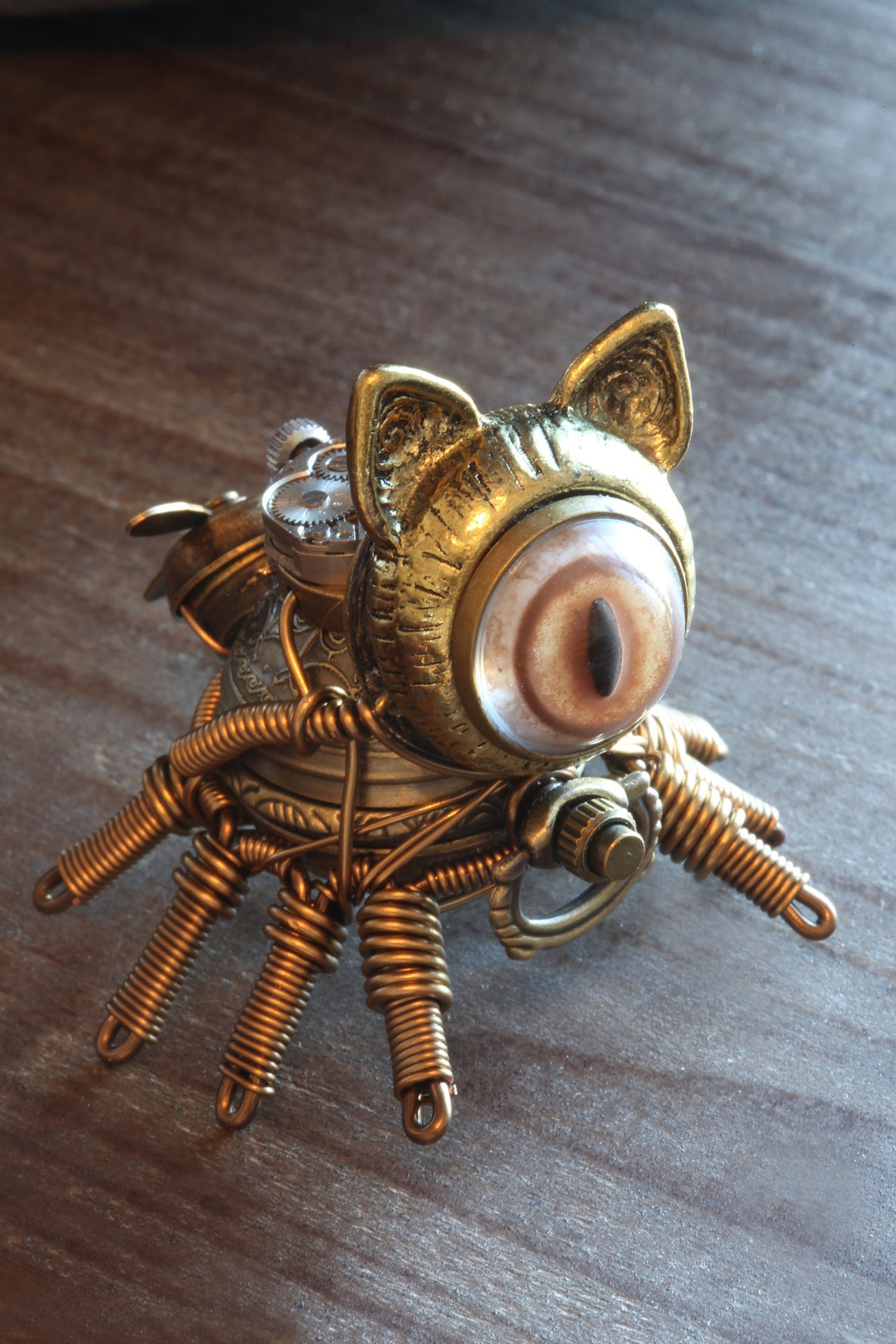 8 Legged Steampunk cat