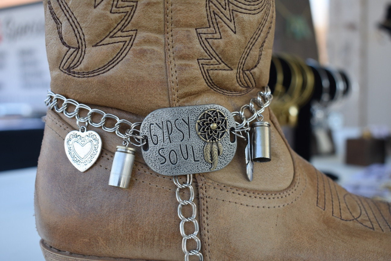 Nickel Boot Charms