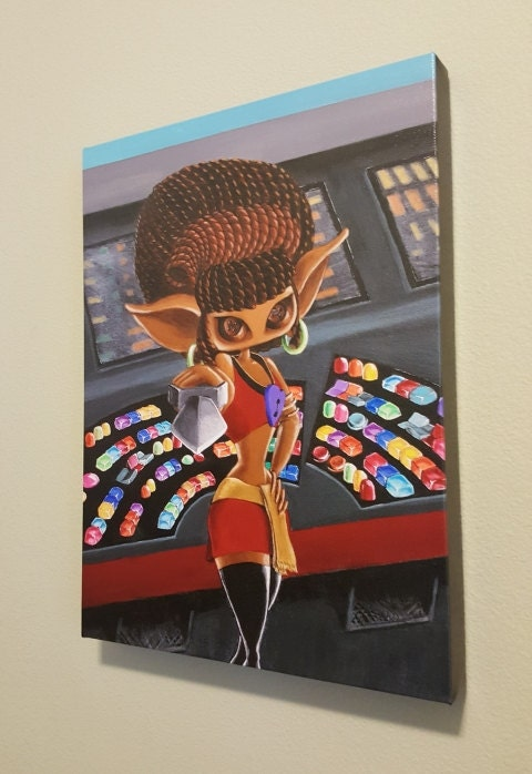 She Boldly Goes MuseArt
