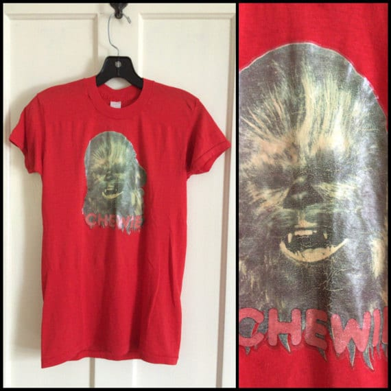1970s Chewbacca Star Wars t-shirt