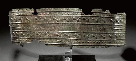 Hittite Belt. Photo from Pinterest
