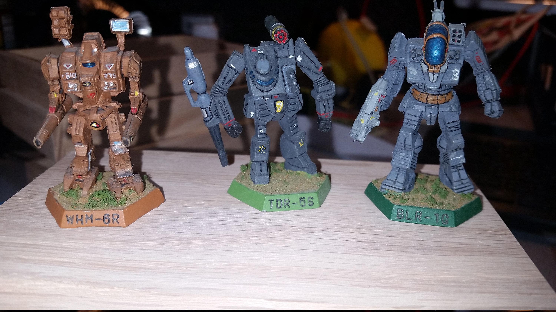 Battletech minis