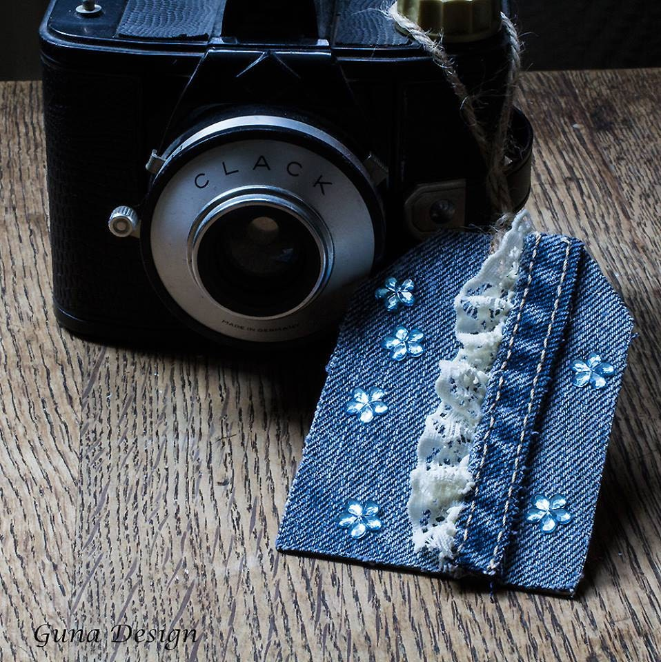 GunaDesign denim tag