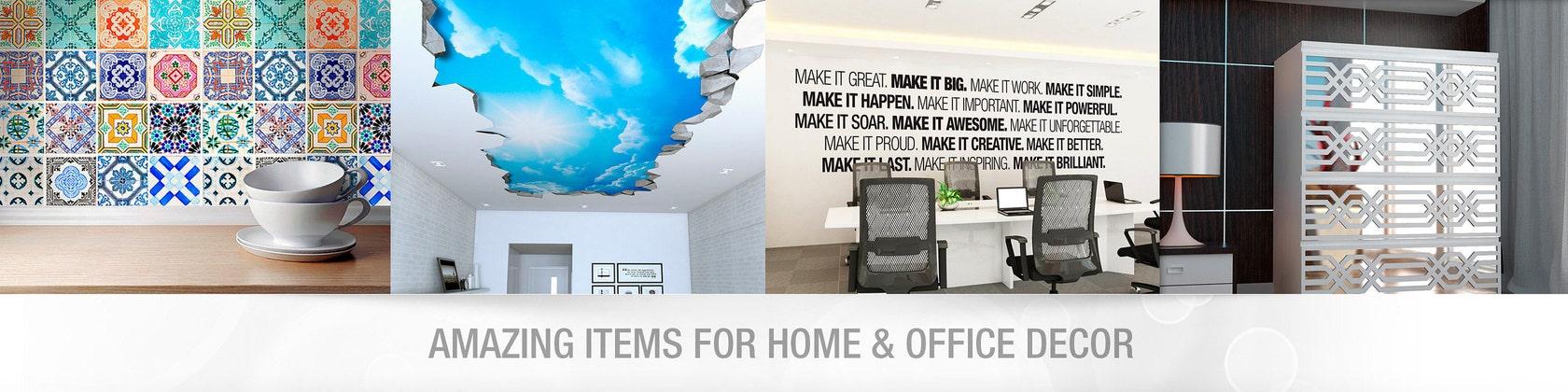 Wandtattoo-und Fliesen-Aufkleber für Wohnkultur von HomeArtStickers