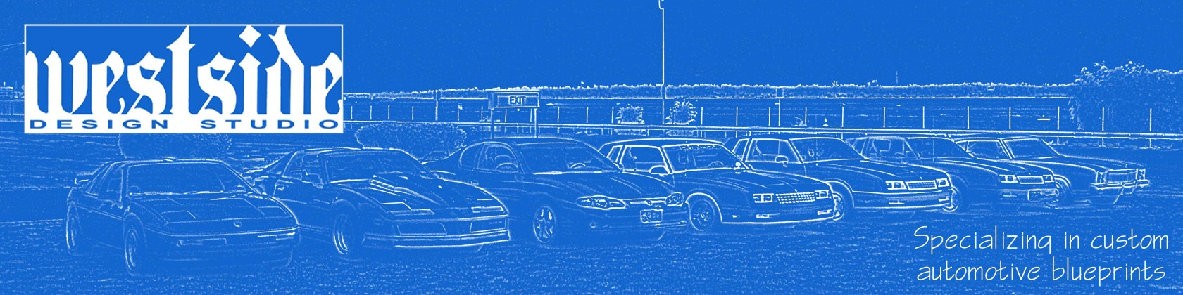 Custom automotive blueprints by WestsideDesignStudio on Etsy