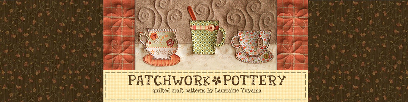 Digital Quilted Craft Patterns by PatchworkPottery on Etsy