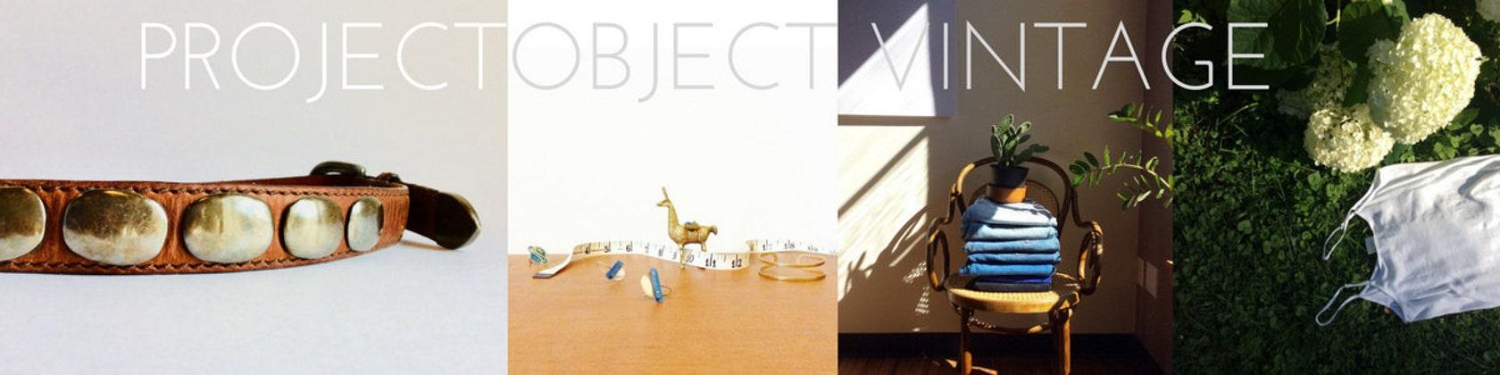 vintage finds // modern twist por ProjectObjectVintage en Etsy