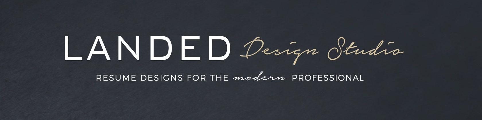 LandedDesignStudio Professional Resume Professional Resume Templates