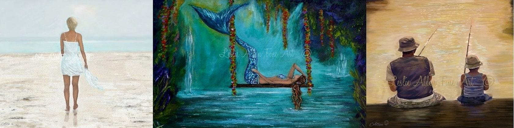 Leslieallenfineart original fine art paintings prints