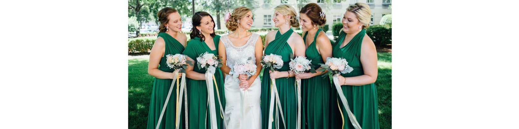 infinity bridesmaid dresses made in new york city by