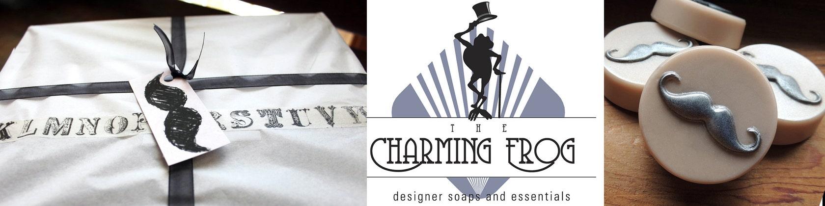 Handmade Designer Soaps & Essentials von thecharmingfrog auf Etsy
