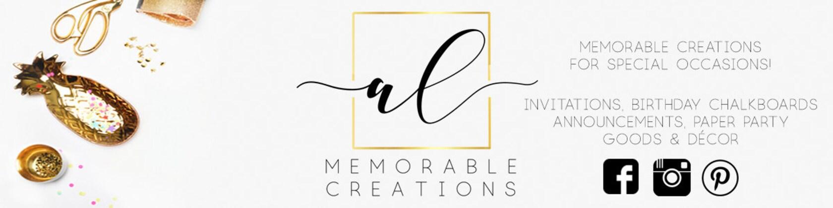 Memorable creations for special occasions von ALMemorableCreations