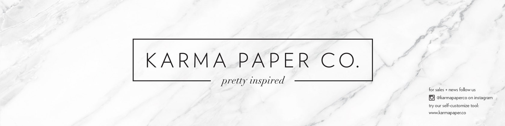 Personalized Paper & Home Goods von KarmaPaperCo auf Etsy
