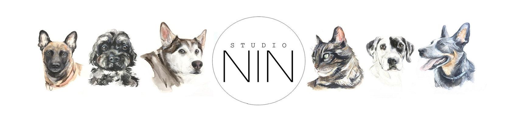 Custom made pet portraits and original paintings por PetShopofColor