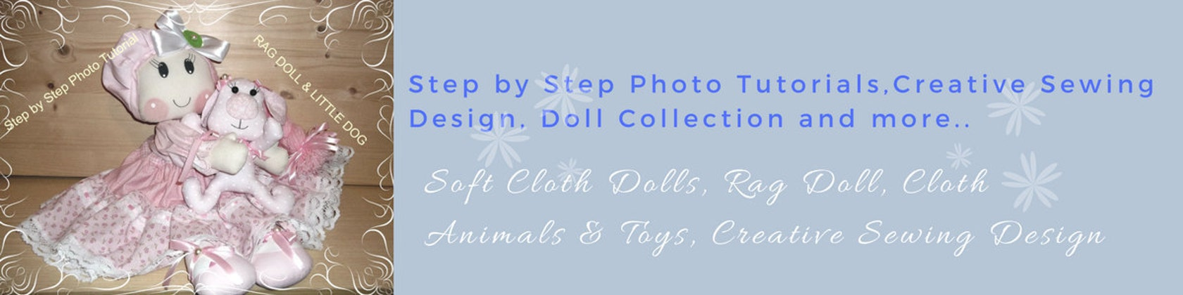 Soft Sculpture Dolls & PDF & Creative Sewing and by Rosselladolls