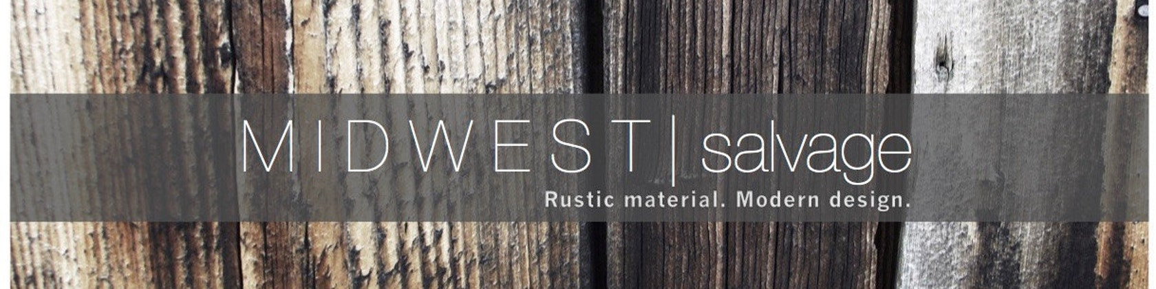 Rustic material. Modern design. by MidwestSalvageStudio on Etsy