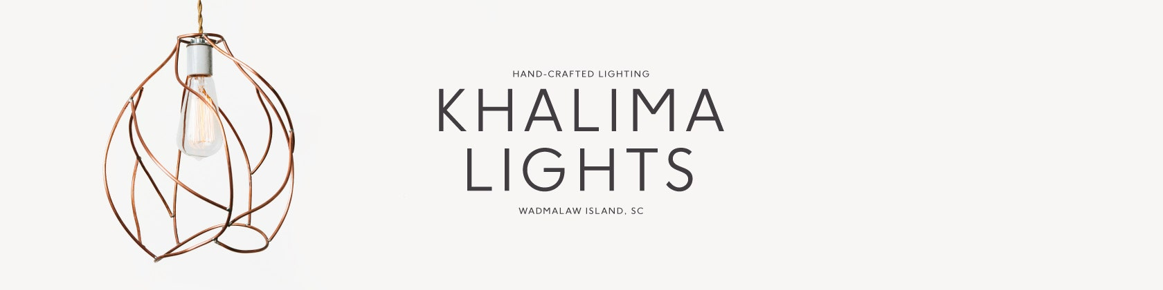 Artisan Lighting Handmade in the South by KhalimaLights on Etsy