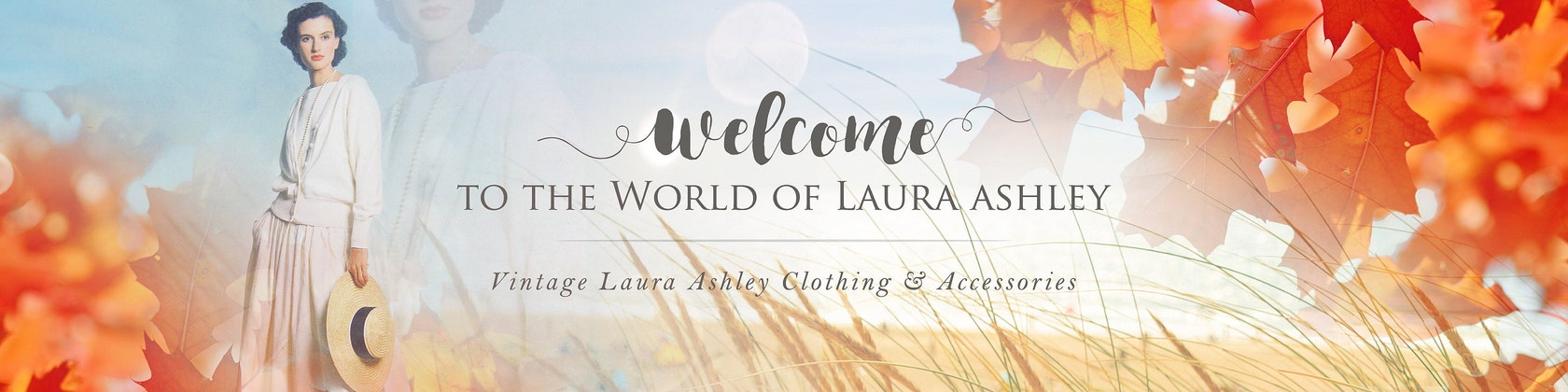 VINTAGE LAURA ASHLEY CLOTHING & ACCESSORIES von VintageLauraAshley