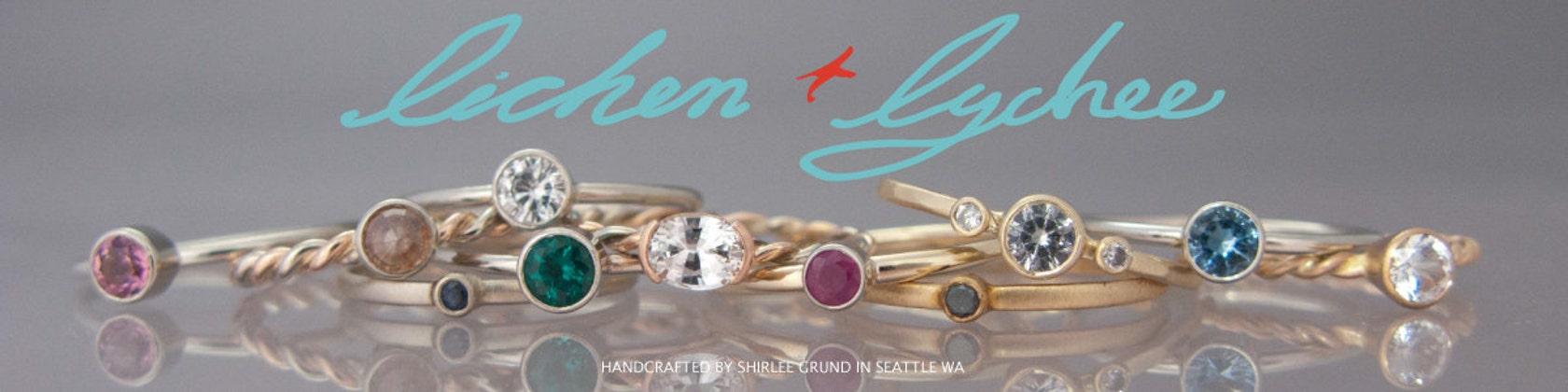 Ethical Wedding Jewelry Handmade by Shirlee von LichenAndLychee