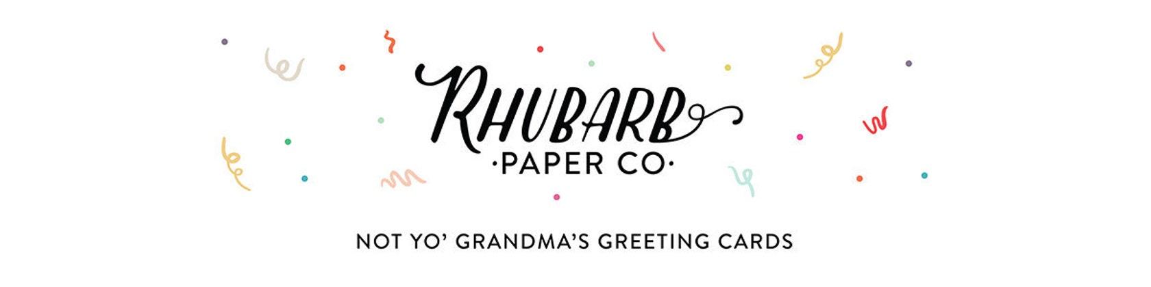 Not yo\' Grandma\'s greeting cards von rhubarbpaperco auf Etsy