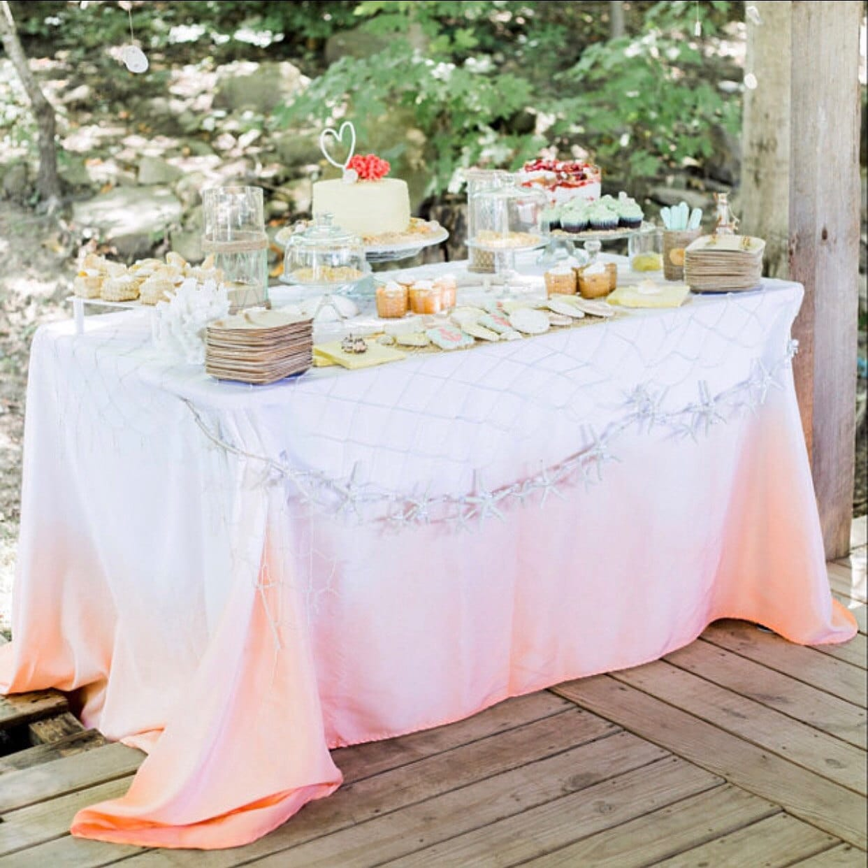 ombre napkins many colors ombre linen dip dyed wedding