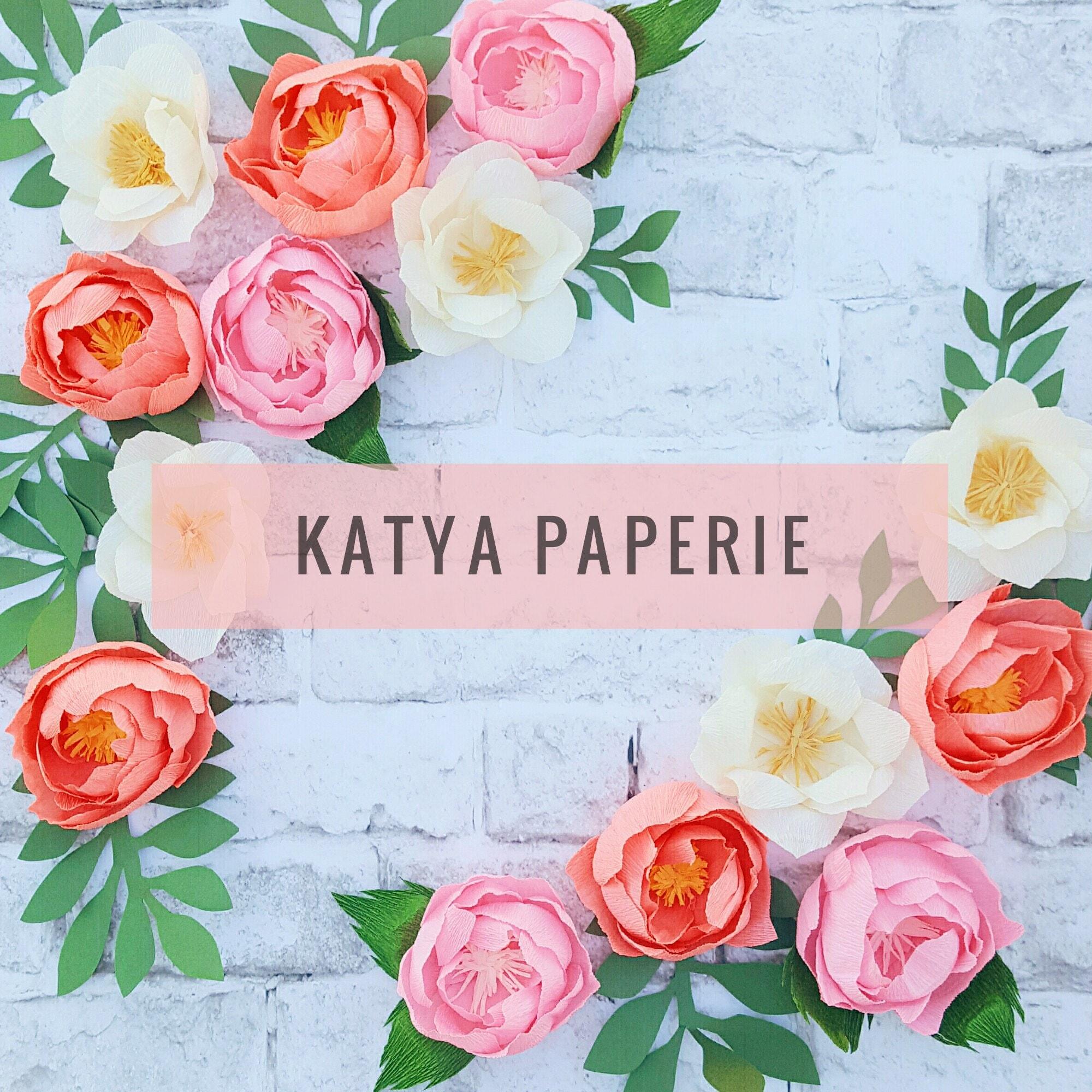 Paper Art Studio By Katyapaperie On Etsy