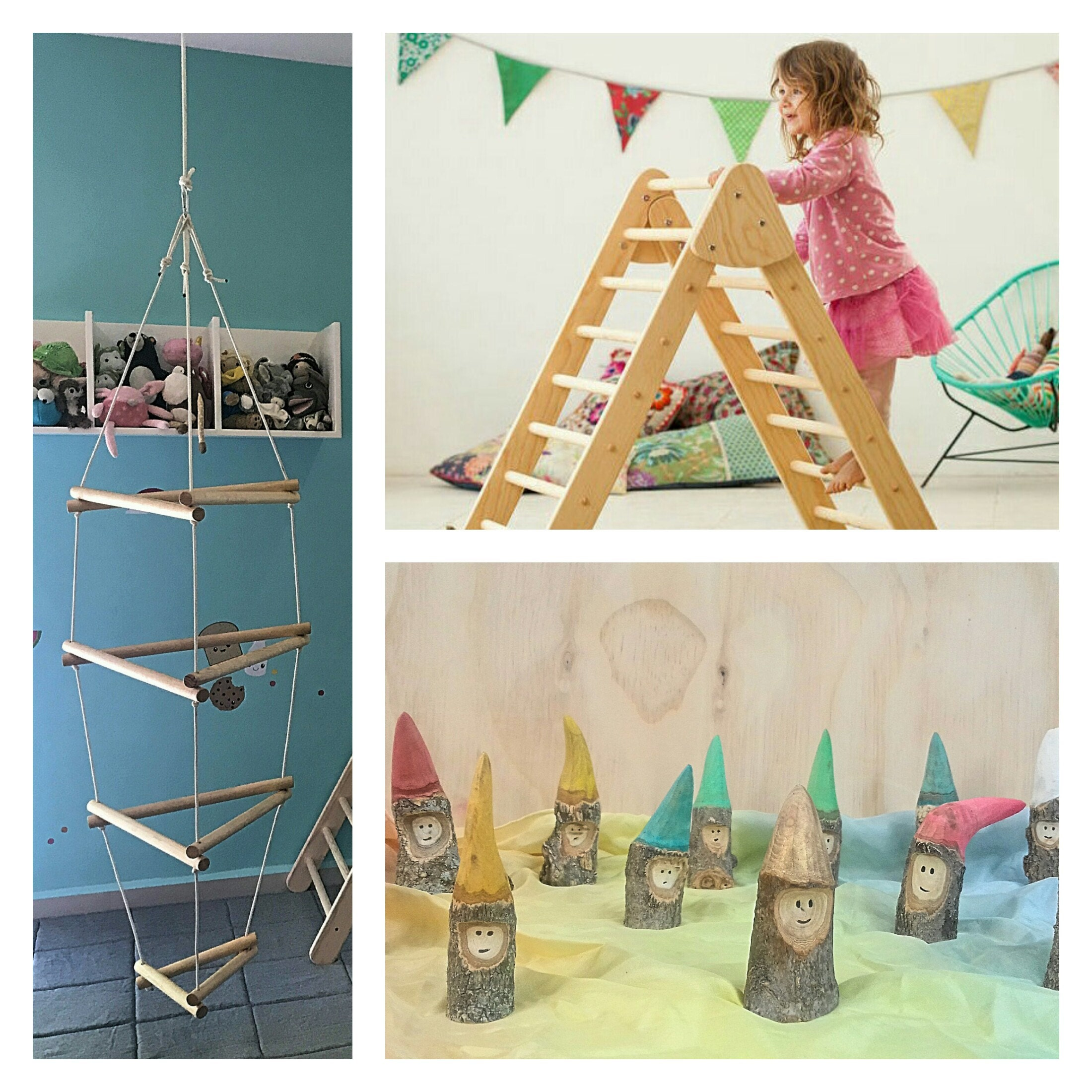 Wiwiurka Wood play structures and toys for active play por Wiwiurka