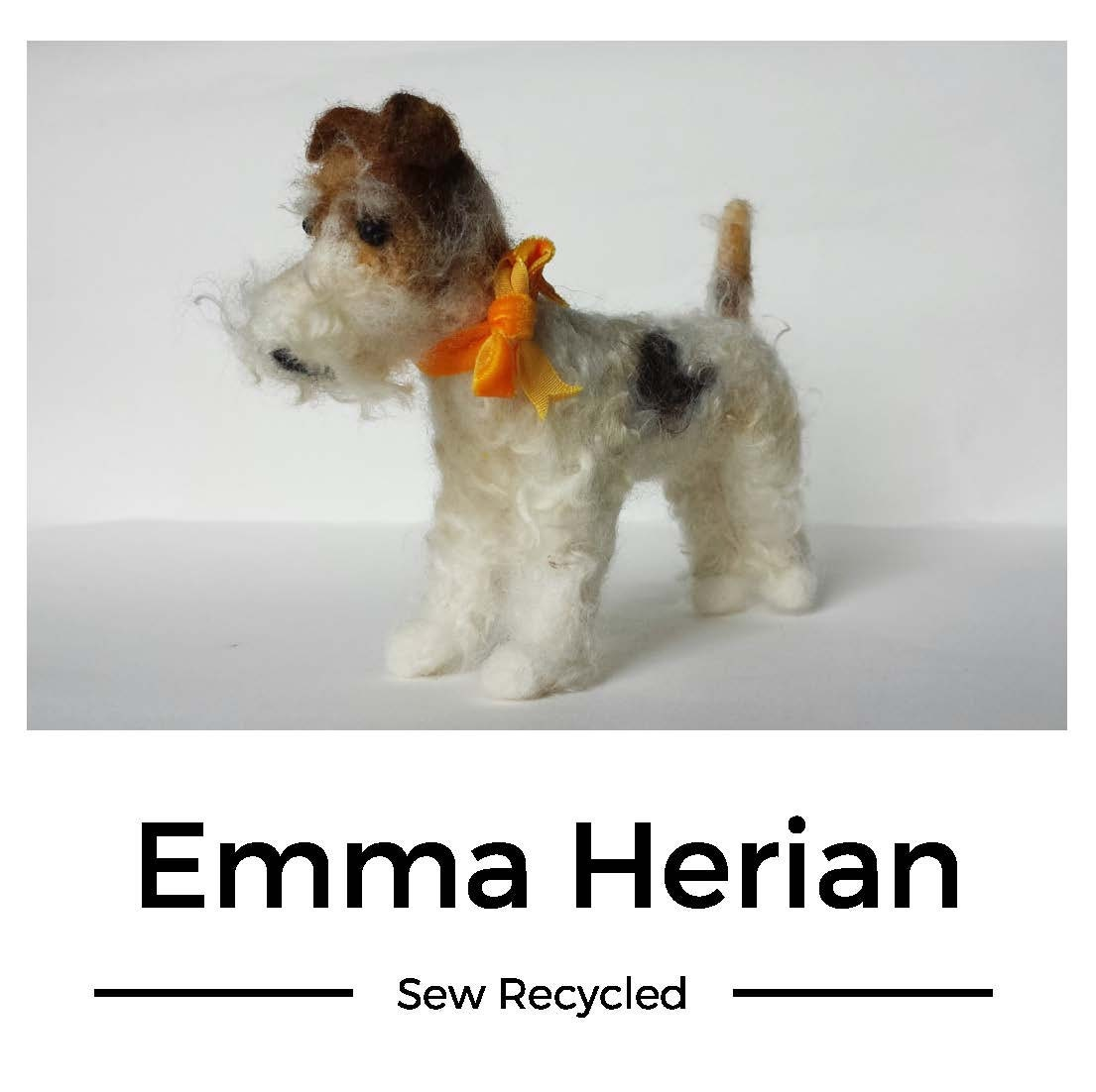 Emma Herian Textile Artist Feature Writer & Tutor by SewRecycled