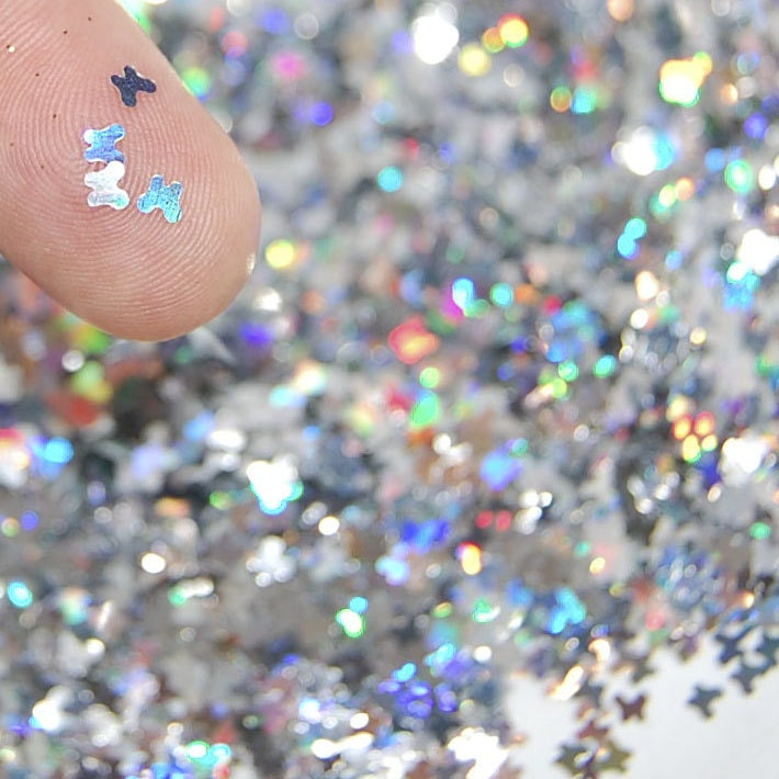 Solvent Resistant Glitter Nail Glitter Craft by Theglittersource