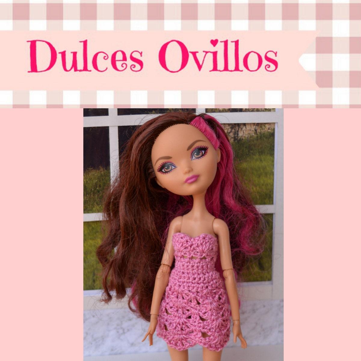 Vestidos para tus muñecas hechos con amor por Dulcesovillos en Etsy