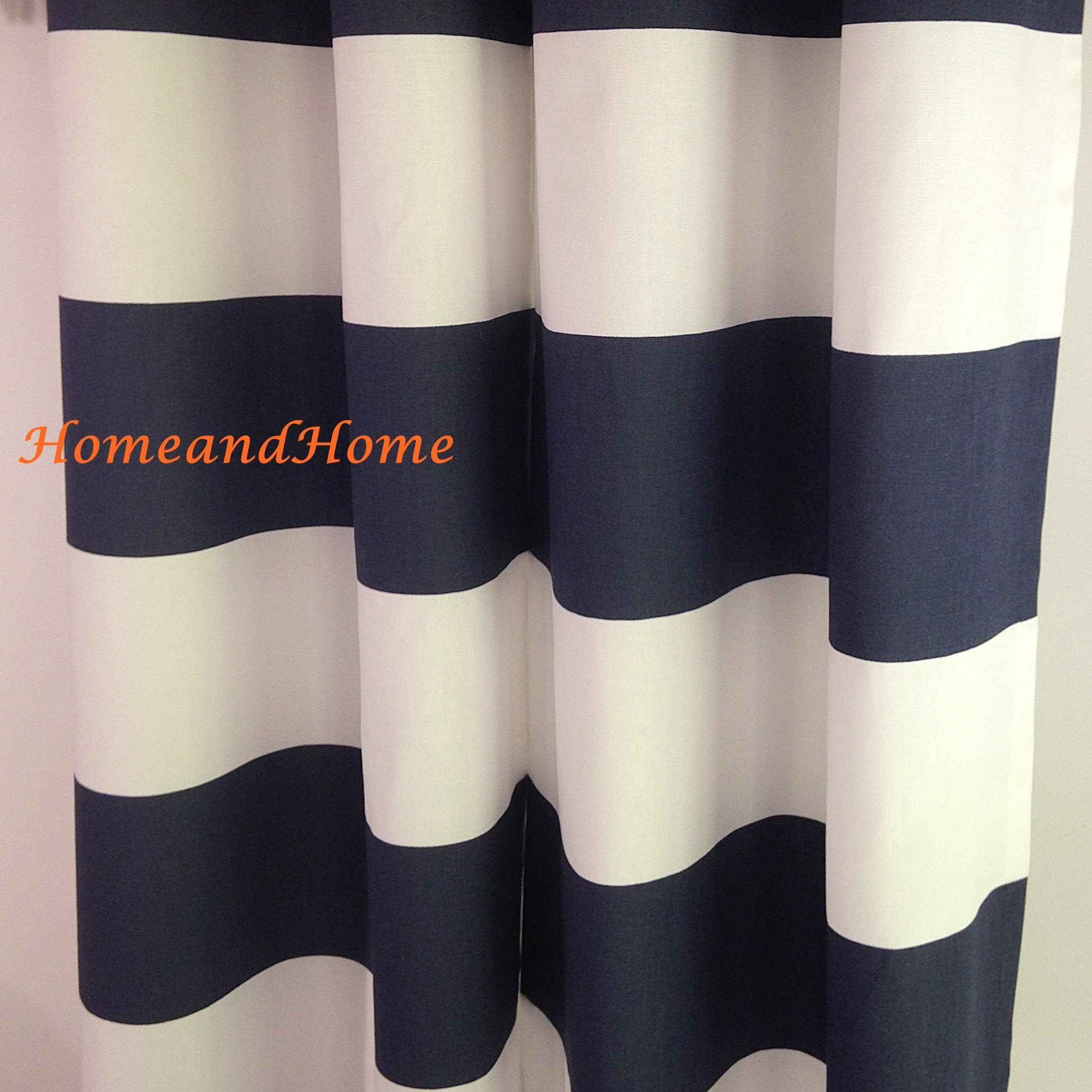 grey striped navy shower fish curtain anchor fabric aqua blue bathroom peacock long cool designer wide curtains nautical white hooks extra
