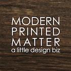 ModernPrintedMatter