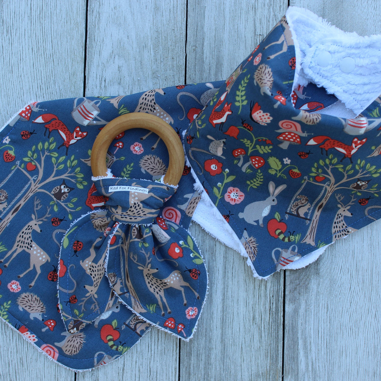 Summertime Baby Girl Bib Set Bandana Bibs Baby Girl Bibs