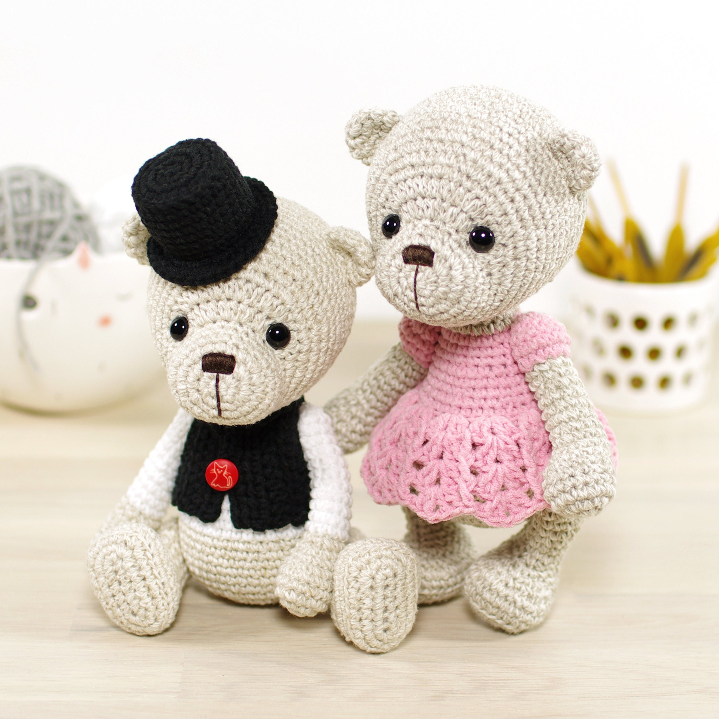 Amigurumi crochet animal and doll patterns by KristiTullus on Etsy