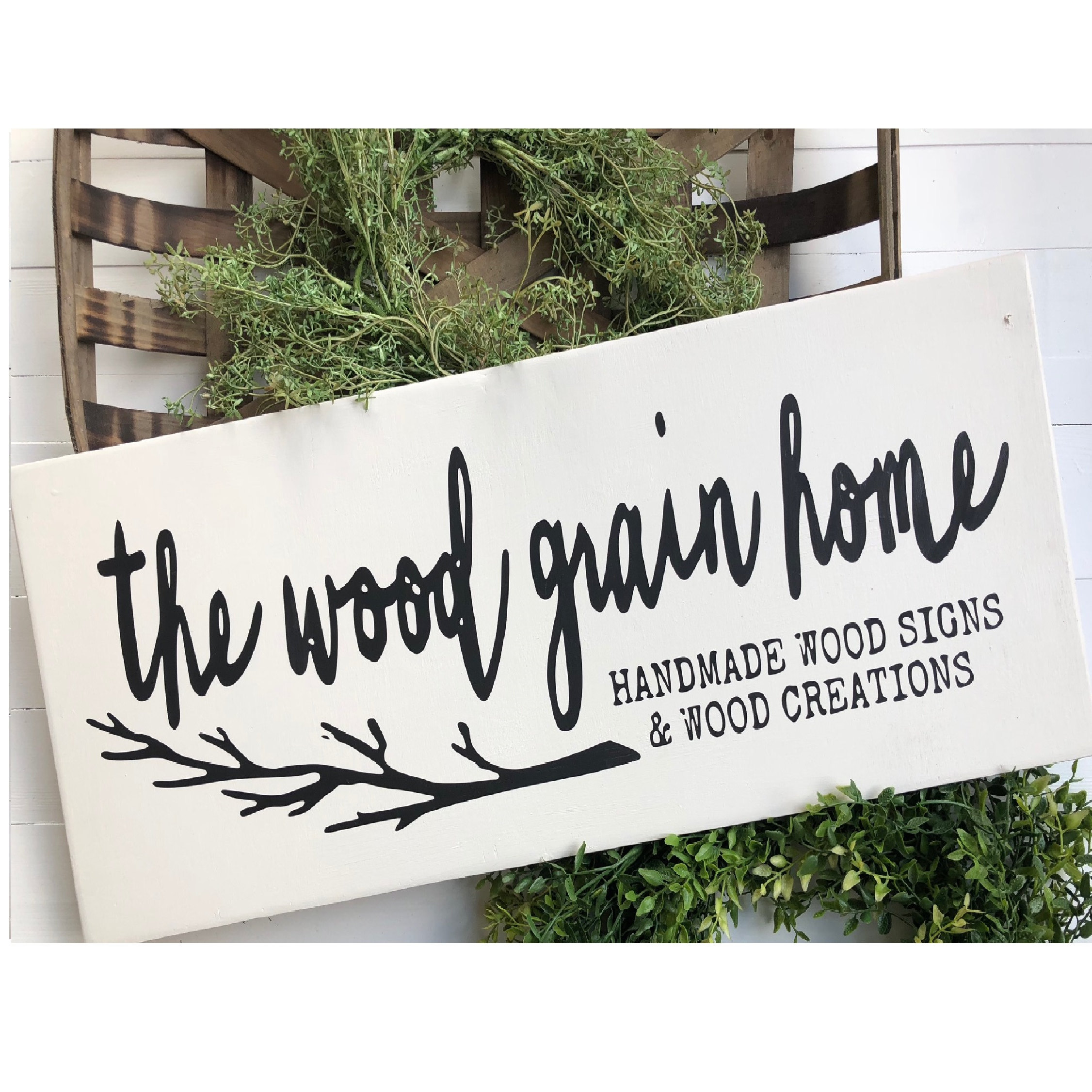 Handmade Wood Signs and Wood Creations by TheWoodGrainHome on Etsy