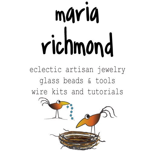 Wire tutorials kits and jewelry by LostMarbles on Etsy