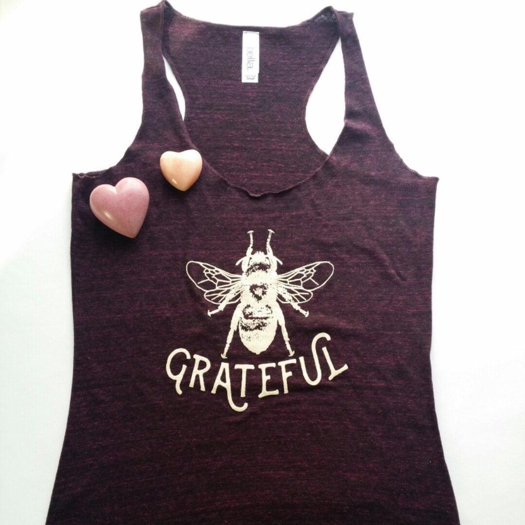 Grateful Dead Trucker Hat: Bee Grateful/ Trucker Hat/ Grateful/Inspirational Gift/ Bee