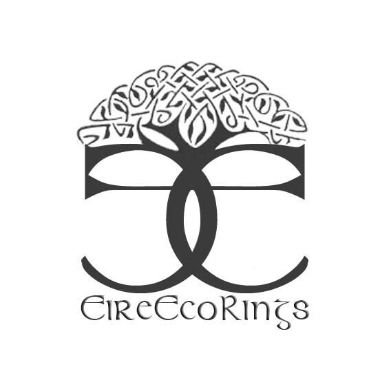 Irish Coin Ring Connemara Marble Irish Wedding Rings Limited