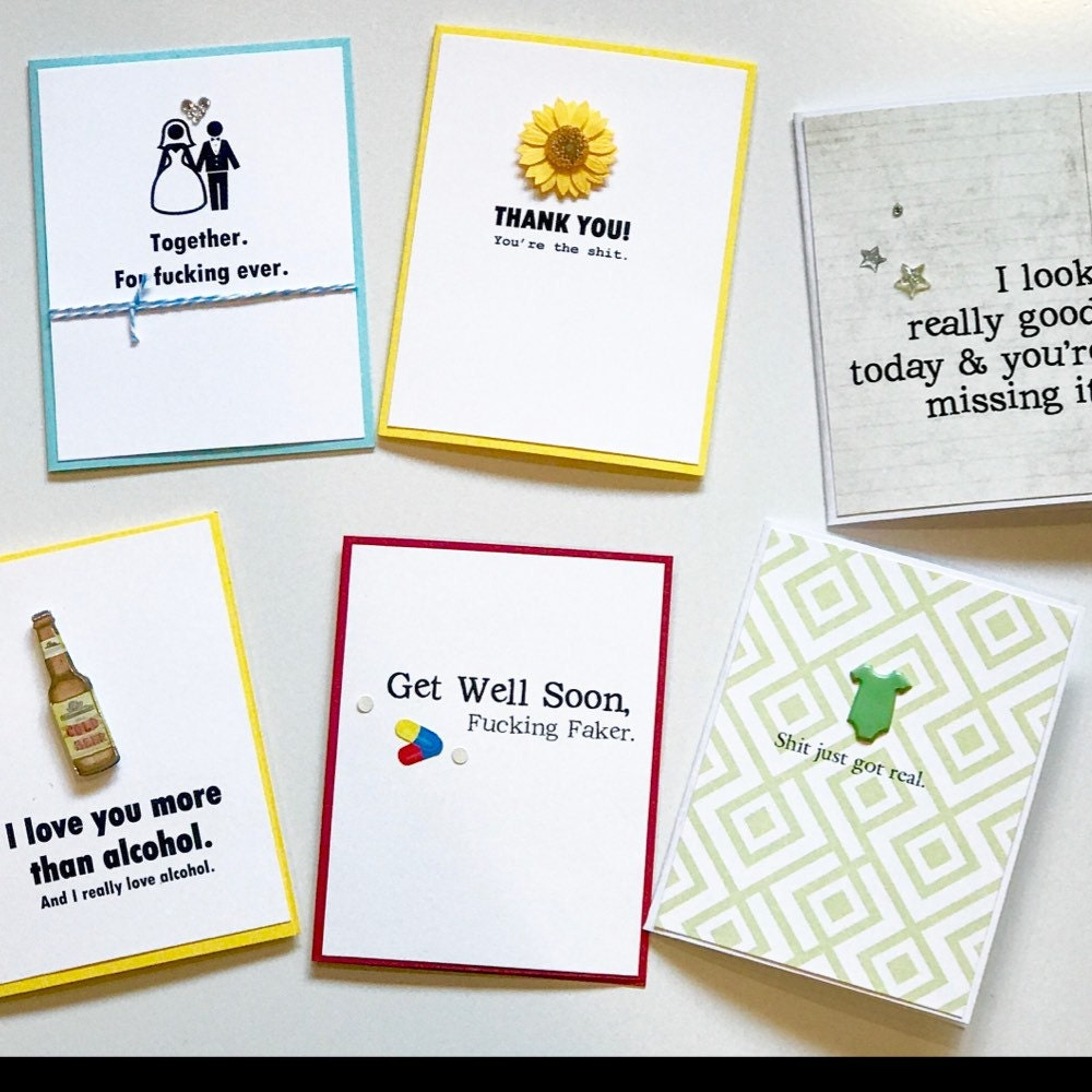 The funniest inappropriate handmade greeting by muddymouthcards kristyandbryce Image collections
