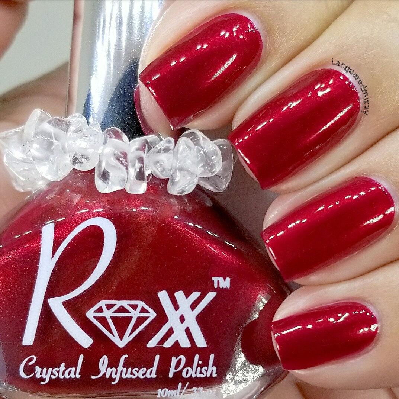 Crystal Infused Nail Polish & Vegan Lip Balms. by RoxxNailPolish