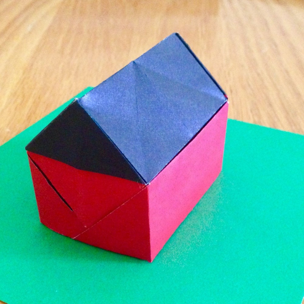 five japanese star tato origami envelopes or flat containers. Black Bedroom Furniture Sets. Home Design Ideas
