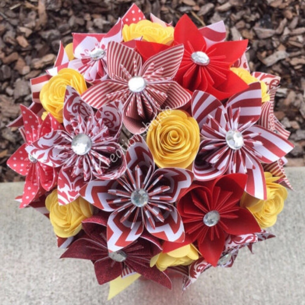 Twinkle Toes Kusudama Origami Flower Bouquetflower