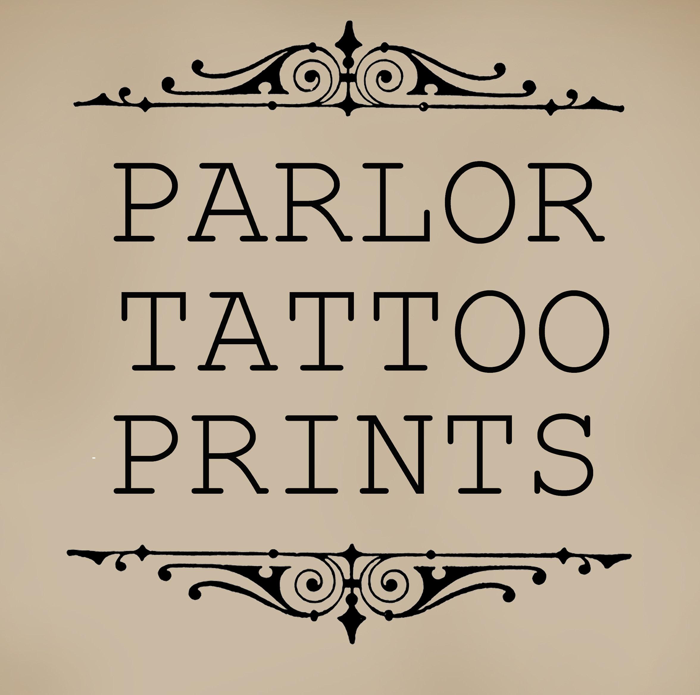 Traditional Tattoo Flash Art by Quyen Dinh por ParlorTattooPrints