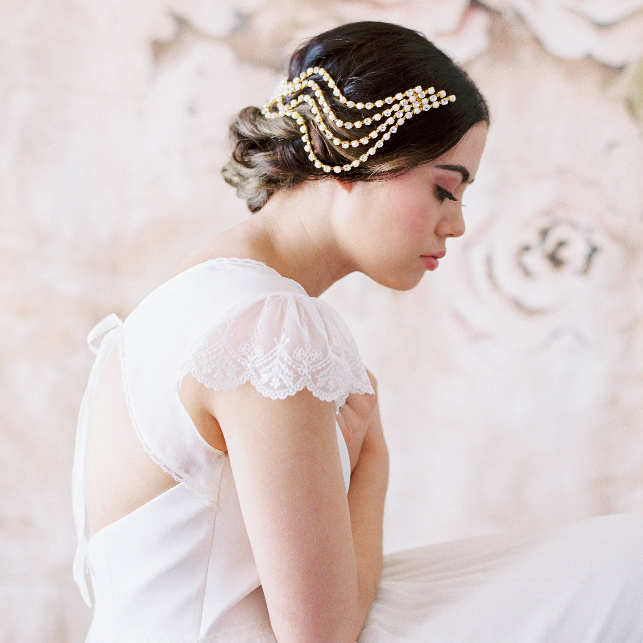 Danani Bridal headpieces veils and hair jewelry by danani on Etsy
