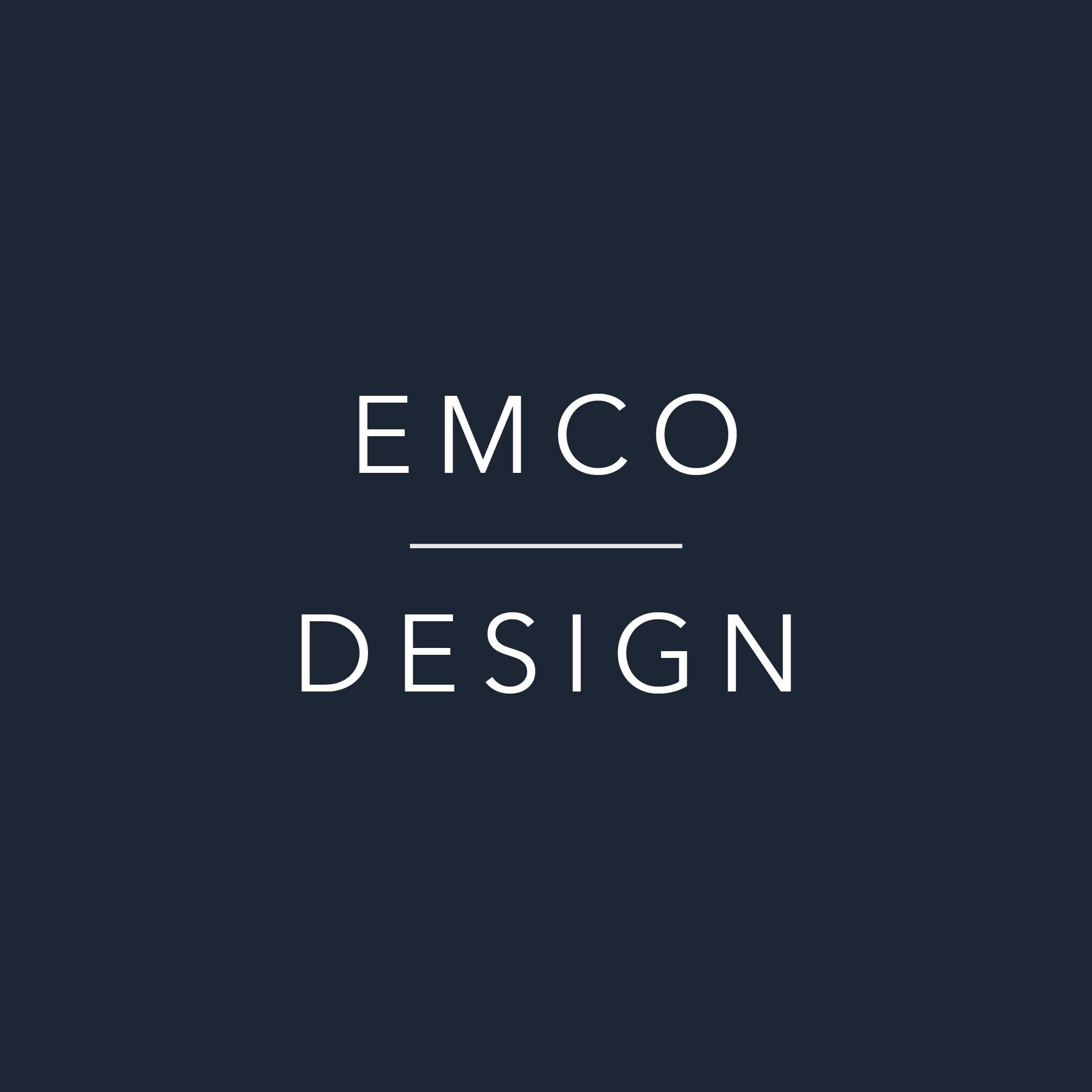 EMCO Design por EmandCoDesign en Etsy