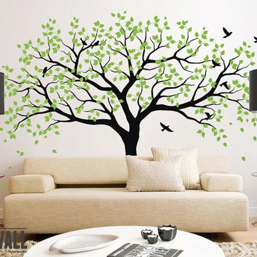 Superb Removable Vinyl Wall Tree Decals By ONWALLstudio On Etsy