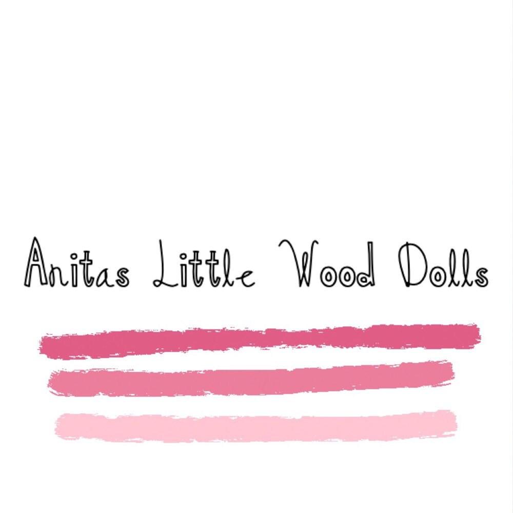 We\'ve MOVED to ANITASLITTLEWOODDOLL.ETSY.COM by AnitasPegDolls