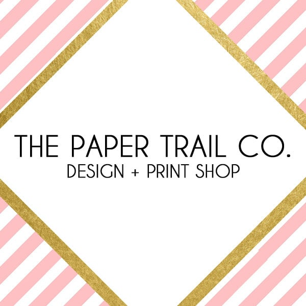 Design Print Shop By ThePaperTrailCo On Etsy - Invoice maker free download rocco online store