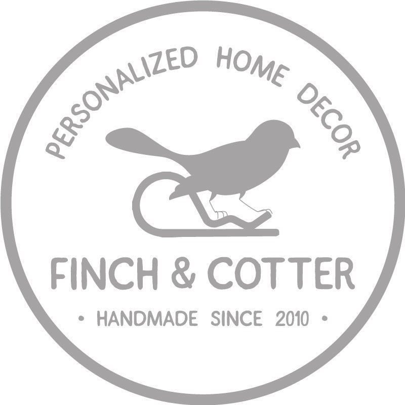 Personalized Gifts Framed Prints Custom von FinchandCotter