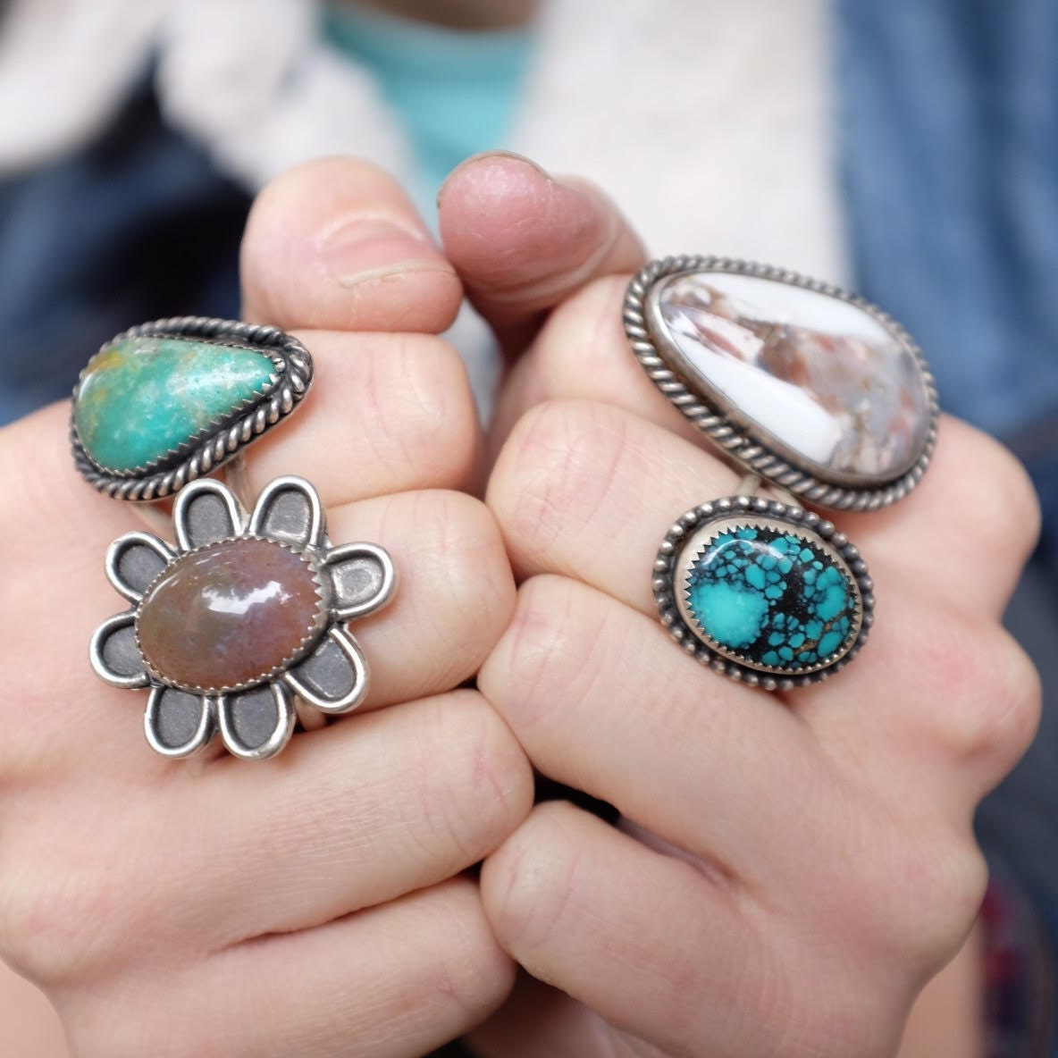 Handmade Jewelry by Allison Dendulk. by desertdustjewelry on Etsy